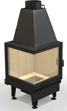 4897513 Wkład kominkowy powietrzny 13kW ARYSTO A10L [510+510] / 510 DJ (lewa boczna szyba)