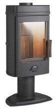 86854942 Piec wolnostojący Invicta 10kW Mairy (górna średnica wylotu spalin: 150mm, kolor: antracyt)