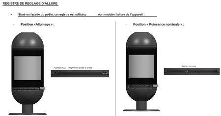 BINIKTA Piec wolnostojący Invicta 6kW Altais + dolot powietrza (wylot spalin: góra, kolor: antracyt) -spełnia anty-smogowy EkoProjekt 86854926