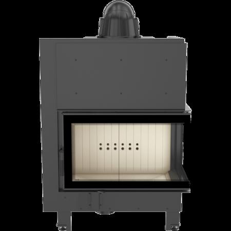 DOSTAWA GRATIS! 30046764 Wkład kominkowy 15kW MBO BS (prawa boczna szyba bez szprosa) - spełnia anty-smogowy EkoProjekt