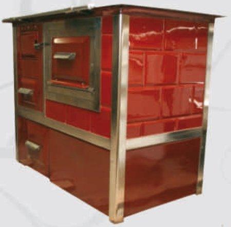 DOSTAWA GRATIS! 92238158 Kuchnia, angielka 9,5kW Monika z wężownicą (kolor: biały)