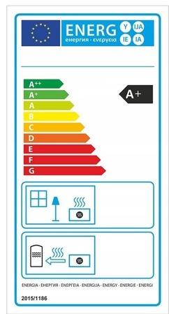 DOSTAWA GRATIS! 99672856 Piec wolnostojący 13-15kW (kolor: brązowy) - spełnia anty-smogowy EkoProjekt