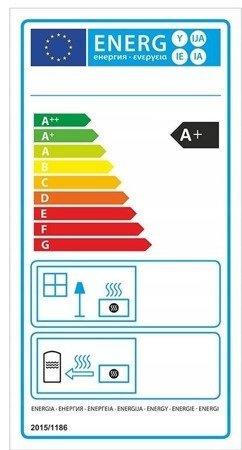 DOSTAWA GRATIS! 99672982 Piec wolnostojący 8kW (kolor: pistacjowy) - spełnia anty-smogowy EkoProjekt