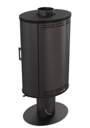 KONS Piec wolnostojący koza 8kW AB GLASS z wylotem spalin fi 150 - spełnia anty-smogowy EkoProjekt 30055017