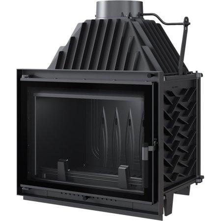 KONS Wkład kominkowy 12kW Zuzia Eco Deco (szyba prosta) - spełnia anty-smogowy EkoProjekt 30066809