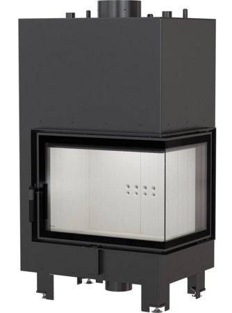 KONS Wkład kominkowy 13kW MBZ PW BS z płaszczem wodnym, wężownicą (prawa boczna szyba bez szprosa) - spełnia anty-smogowy EkoProjekt 30065765