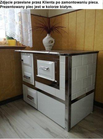Kuchnia, angielka 9,5kW Monika z wężownicą (kolor: biały) 92238158