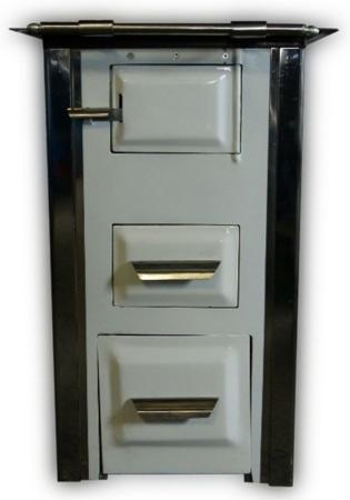 Kuchnia kaflowa, angielka 7,5kW Mini, bez płaszcza wodnego, brąz  92238162