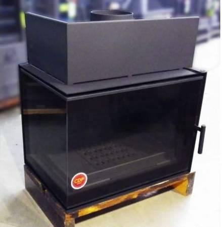 TOPSTOVE Wkład kominkowy 12kW (lewa boczna szyba) - spełnia anty-smogowy EkoProjekt 58477278