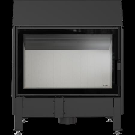 Wkład kominkowy 11kW Zibi 12 Deco (szyba prosta) - spełnia anty-smogowy EkoProjekt 30065520