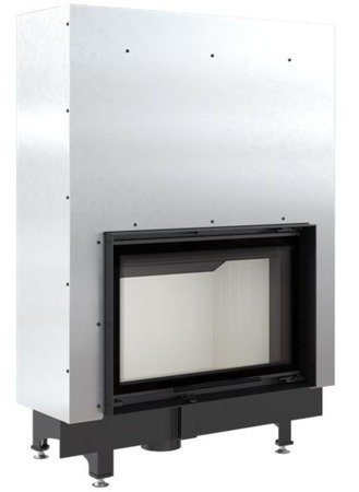 Wkład kominkowy 11kW Zibi Gilotyna (szyba prosta podnoszona do góry) - spełnia anty-smogowy EkoProjekt 30040937