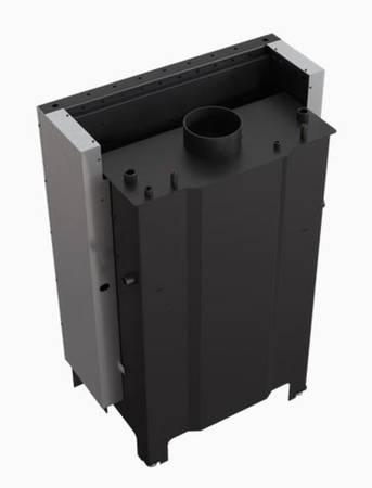 Wkład kominkowy 17kW MBA PW Gilotyna z płaszczem wodnym, wężownicą (szyba prosta podnoszona do góry) - spełnia anty-smogowy EkoProjekt 30066818